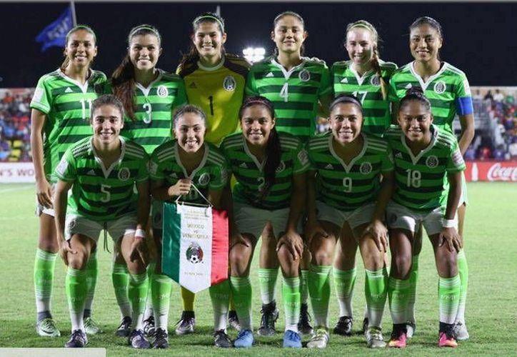 El conjunto mexicano buscará su pase a semifinales el viernes cuando se vea las caras con su similar de Estados Unidos, que fue líder del Grupo C. (Facebook Selección Nacional Femenil)