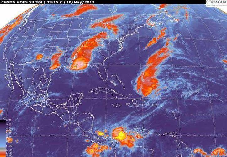 Los vientos dominantes serán del este y sureste de 20 a 40 km/h. (smn.cna.gob.mx)