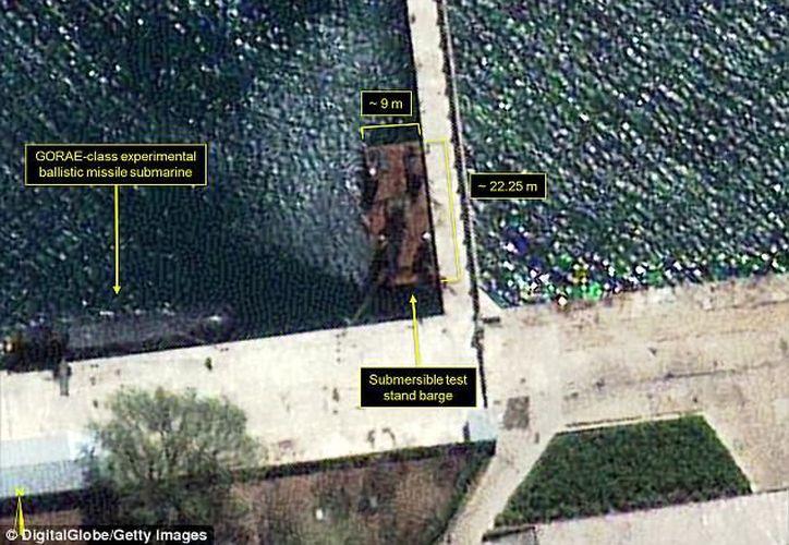 Las imágenes de satélite, fueron tomadas el 19 de abril. (Getty).