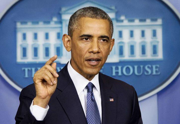 El presidente Barack Obama durante la conferencia de prensa en la Casa Blanca, en la que admitió que la CIA torturó a presuntos terroristas. (Foto: AP)
