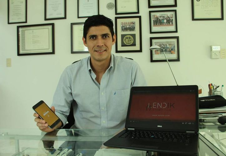 José Enrique López Lagunas es el CEO fundador de Lendik, una innovadora aplicación financiera. (Milenio Novedades)