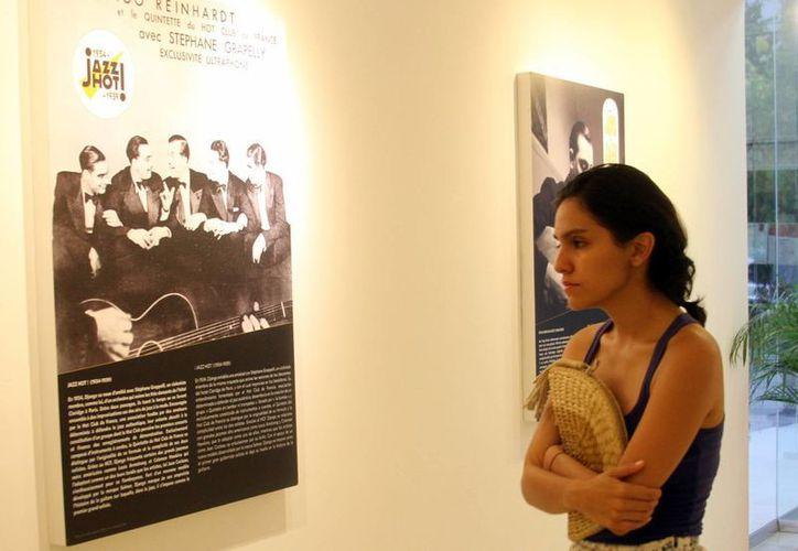 En la muestra los espectadores podrán apreciar ocho paneles con fotografías y reseñas bibliográficas que narran la vida de  los artistas. (Sipse)
