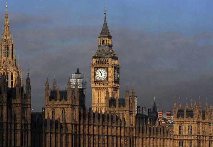 Vista de la sede del Parlamento británico en Londres. (EFE/Archivo)