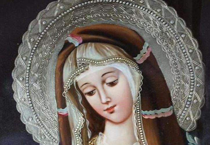 """""""De Cuzco (Perú) a Cancún: una colección de arte sacro de pinturas de la escuela cuzqueña"""". (Alejandra Flores/SIPSE)"""