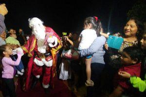 Todavía no es diciembre, pero Santa Claus llegó a Mérida