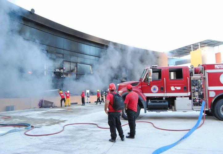 En el incendio en el Palacio de Gobierno de Chilpancingo de Guerrero, nadie resultó herido. (Foto de archivo de Notimex)