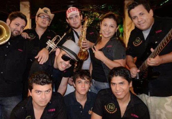 """La banda esta conformada actualmente por: """"Toño"""", """"Audrey"""", """"Skipy"""", """"Lalo"""" , """"Palomo"""" , """"Uzoo, """"Ariel"""", """"Manos"""" y """"Che"""". (Redacción/SIPSE)"""