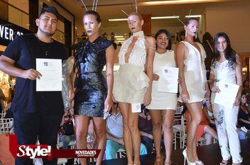 Desfile de modas organizado por la escuela Estudio Creativo