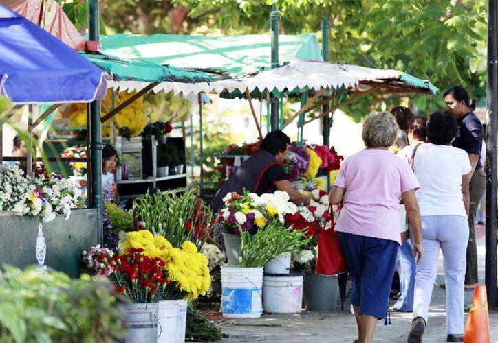 Los puestos de flores deberán tener su lista de precios a la vista. (Milenio Novedades)