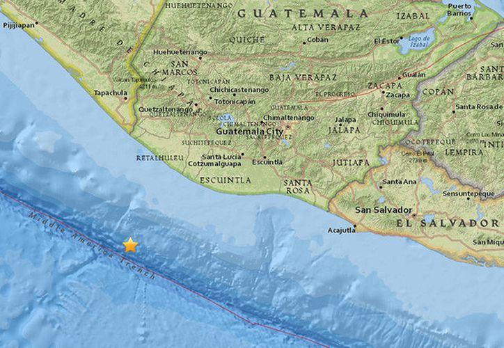 El foco del sismo se ha localizado a una profundidad de 10 kilómetros. (RT)
