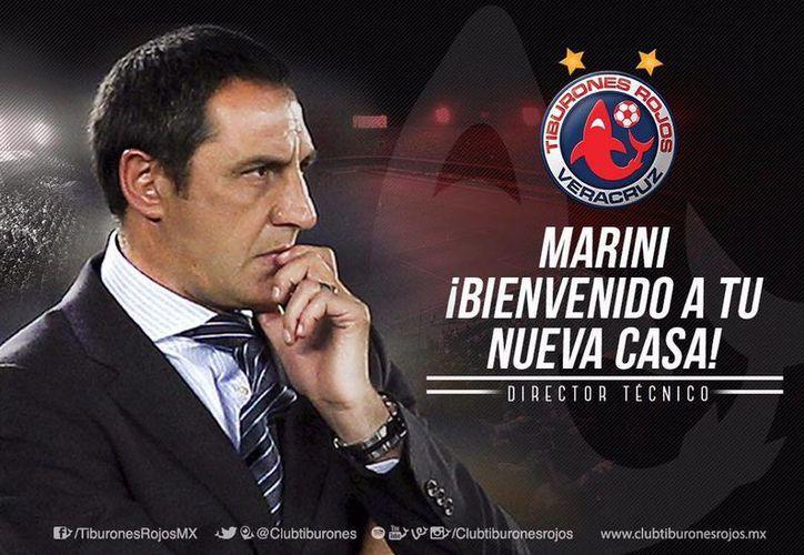 Tras renunciar a la dirección técnica del Puebla en la fase final del torneo, Pablo Marini ya tiene nuevo equipo. (Facebook: Veracruz)