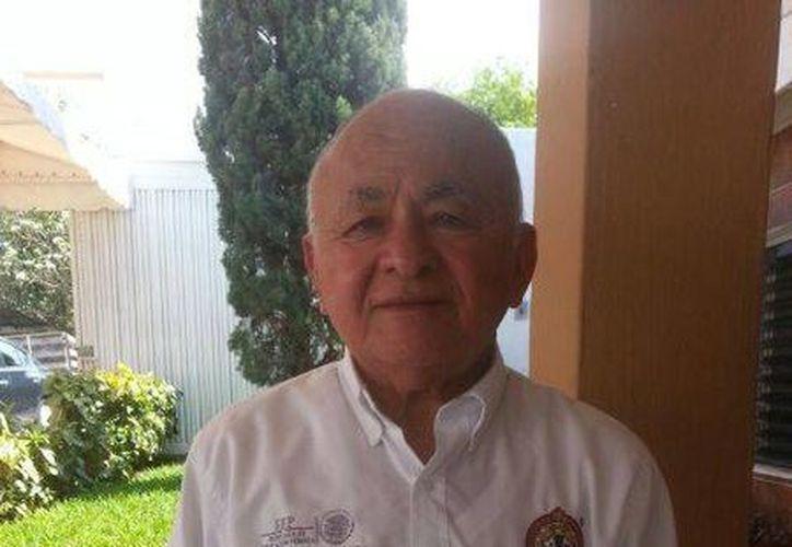 Manuel Jesús Domínguez Salas fue electo secretario general de sección 61 del SNTE. (Fotos: William Sierra/Milenio Novedades)