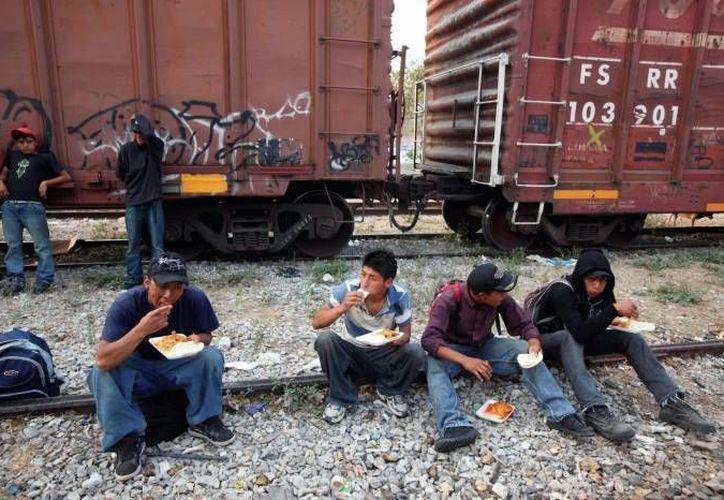Los migrantes iban en un tren de carga. (Archivo/SIPSE)