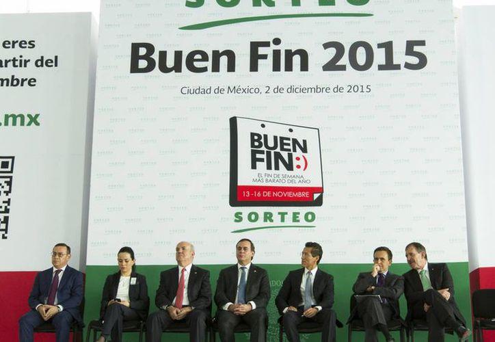La Secretaría de Economía realizó este miércoles el sorteo para reembolsar compras a 149 mil consumidores de El Buen Fin. (Notimex)