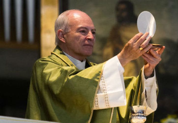 El cardenal Carlos Aguiar Retes, endureció los requisitos para hacer la primera comunión y la confirmación. (Foto: Cuartoscuro)
