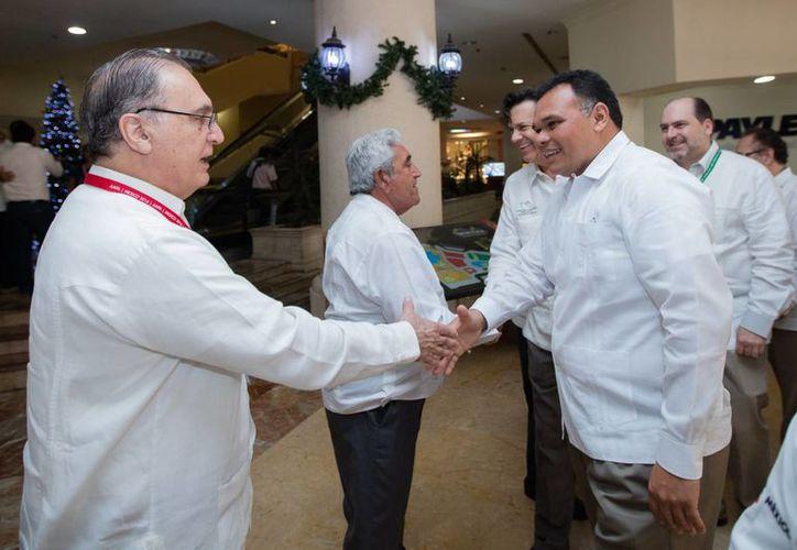 Este miércoles dio inicio en Progreso, Yucatán, el XXV Congreso Latinoamericano de Puertos de la Asociación Americana de Autoridades Portuarias. (Foto cortesía del Gobierno)