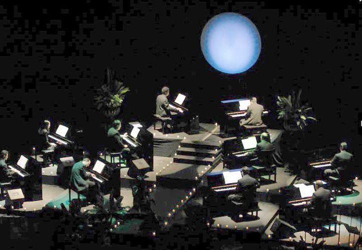 """El concierto """"Show de los Diez Pianos"""" que se llevará a cabo el 2 de agosto, tendrá como escenario el mar de Progreso. (Milenio Novedades)"""