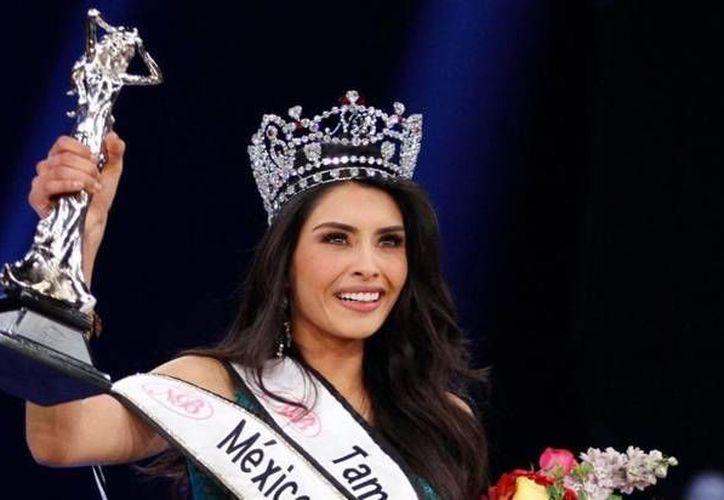 Yuselmi Cristal Silva Dávila es egresada de la Licenciatura en Administración por parte de la UAT, y a partir de este domingo es Nuestra Belleza México 2016. (Imagen tomada de www.notimerica.com)