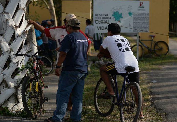 Los ejidatarios impidieron entrada de turistas a la reserva. (Luis Pérez/SIPSE)