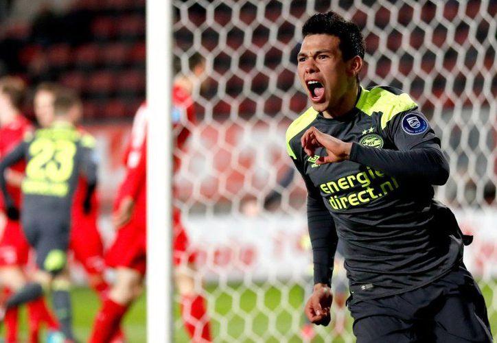 """Chucky"" lidera la tabla de goleo de la Eredivisie con 12 anotaciones. (Foto: PSV/Twitter)"