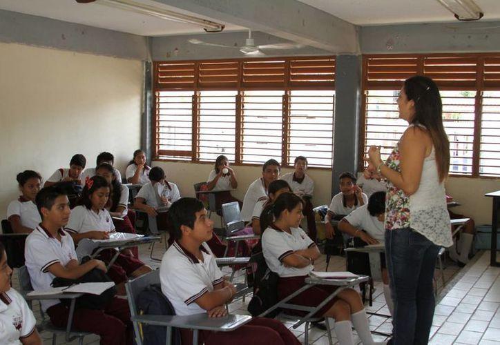 Este año se reportó un incremento de más de cuatro mil alumnos, comparado con 2014. (Adrián Barreto/SIPSE)