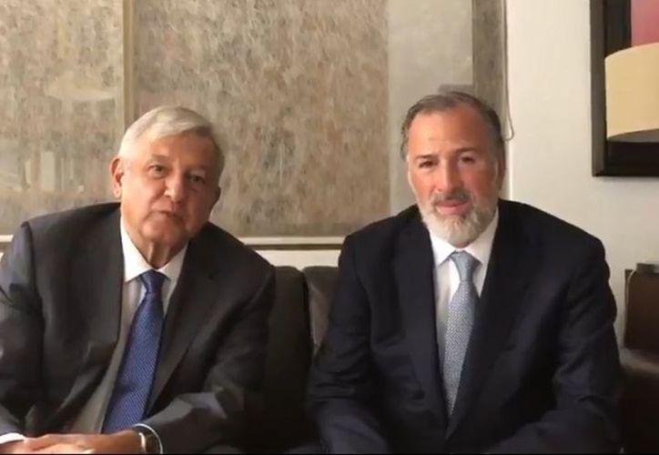 López Obrador no especificó el motivo de la reunión ni los temas que trataron en ésta. (Milenio)