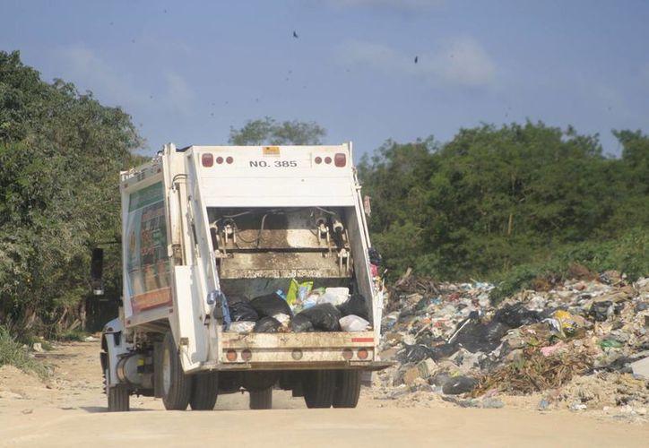 Es incierto si la empresa continuará con el tratamiento de las 280 toneladas de basura que se generan diariamente. (Harold Alcocer/SIPSE)