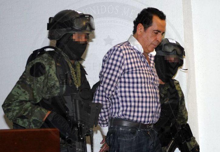 Héctor Beltrán Leyva también enfrenta cargos por posesión de cartuchos de uso exclusivo del Ejército, Armada o Fuerza Aérea. (Notimex/Foto de archivo)