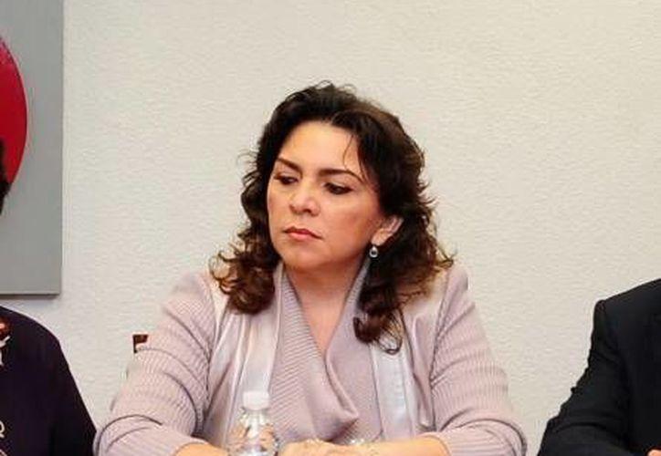 Ivonne Ortega: los trabajos en municipios y estados llevan un buen grado de avance. (Notimex/Foto de archivo)