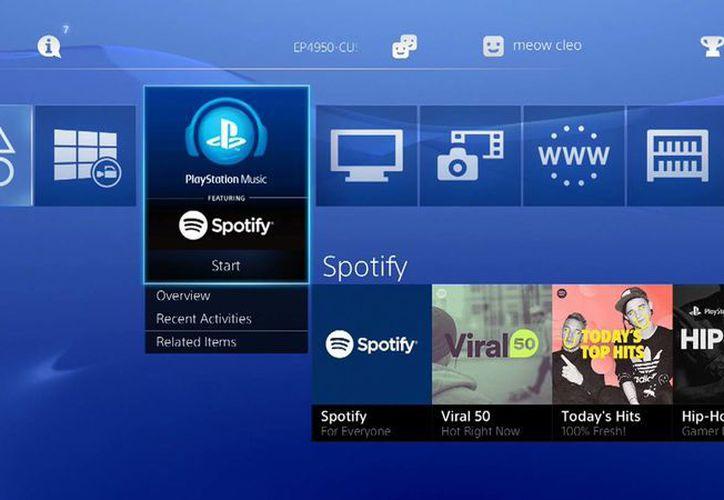 Spotify llegó a las consolas PlayStation 3 y 4 (foto) con una nueva aplicación adaptada para las grandes pantallas de televisión.  (Foto: AP)