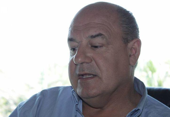 Jean Agarrista Marfín indicó que es imprescindible un espacio para un evento de ese nivel. (Adrián Barrerto/SIPSE)