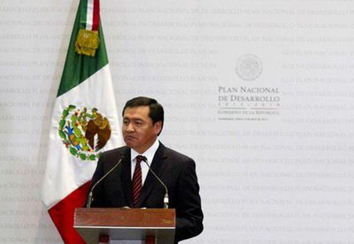 Los ediles indicaron que el gobierno pretende construir dicho plan únicamente con la perspectiva priista, luego de que Osorio Chong cancelara su participación en un foro al respecto. (Notimex)