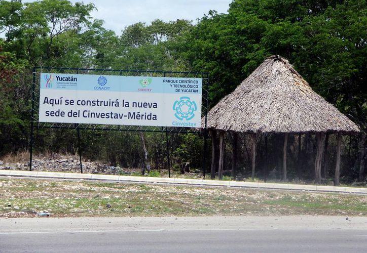 El Cinvestav-Mérida también tiene su espacio en el parque científico. (Milenio Novedades)