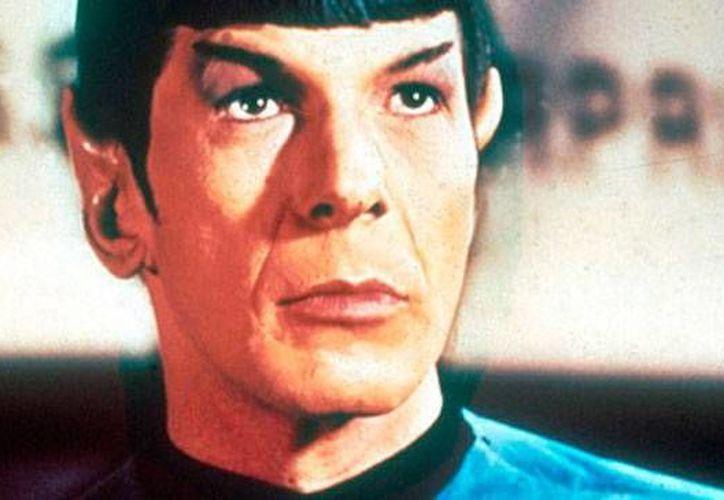 El 'legendario' Mr Spock. El actor que le dio vida, Leonard Nimoy, murió este viernes. (startrek.com)