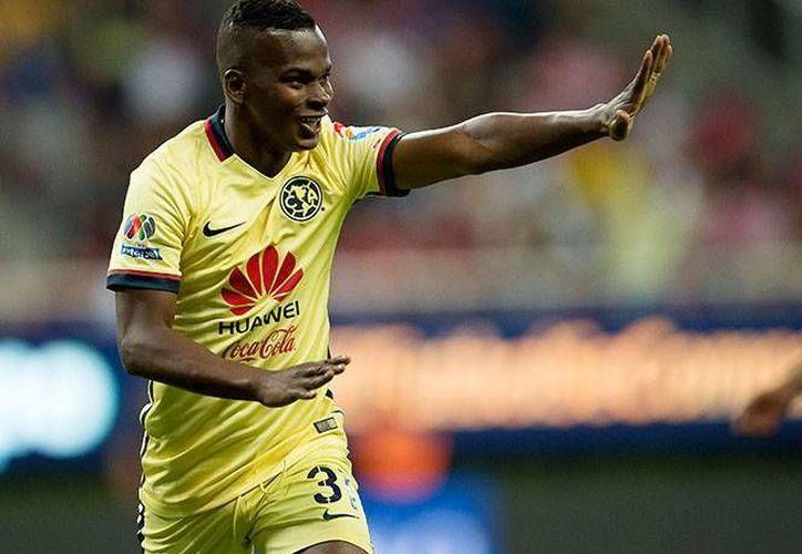 Darwin Quintero marcó al minuto 48 un excelso gol que abrió el camino para que las Águilas del América se lleven el Clásico Nacional. (Imágenes de Mexsport)