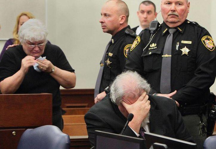 La madre del inculpado pidió indulgencia para su hijo. (Agencias)