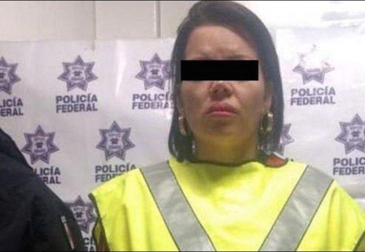 La imputada fue aprehendida por elementos de la División de Investigación de la Policía Federal. (Internet)