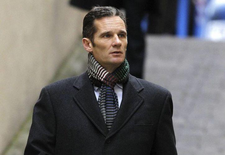 El duque de Palma, Iñaki Urdangarin, a su llegada a los juzgados de Palma para declarar por segunda vez. (EFE)