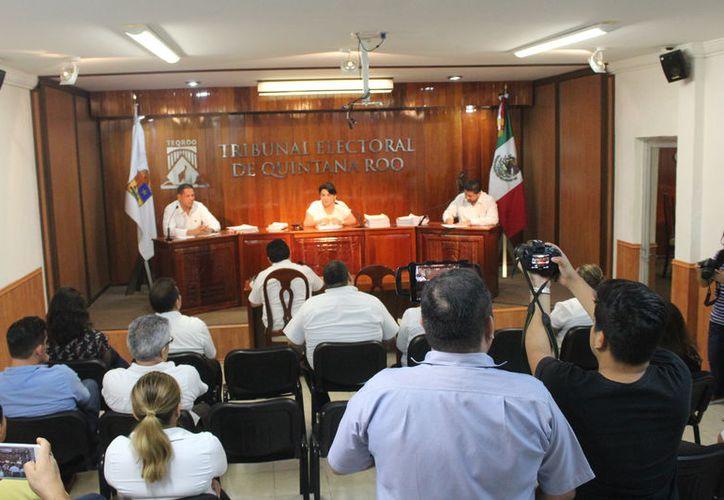 La presidenta municipal de Cozumel, Perla Tun, fue sancionada por el Teqroo. (Joel Zamora/SIPSE)