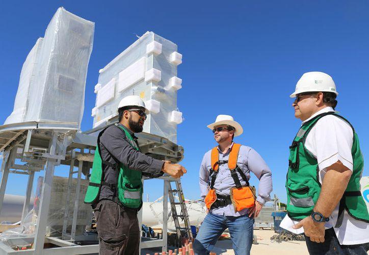 Dzilam es la primera de nueve instalaciones de generación eólica y solar privadas, que tendrán a Yucatán como sede. (SIPSE)