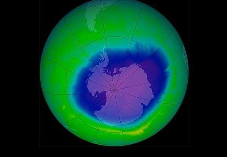 El protocolo de Montreal está ayudando a 'sellar' el agujero de ozono. (NASA)