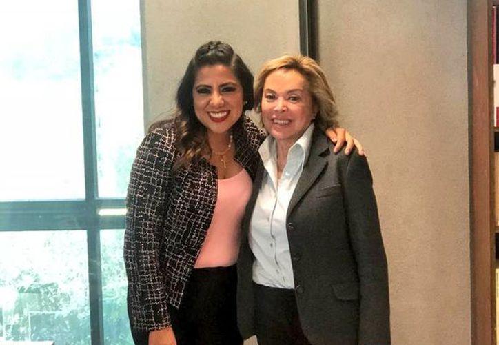 La delegada Lorena Piñón Rivera, compartió una serie de fotografías en su cuenta de Twitter. (Internet)