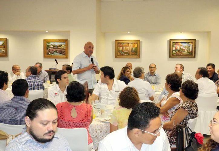 Imagen del evento realizado por la Uady, en el cual se presenteron los detalles del Plan de Desarrollo Institucional. (Milenio Novedades)