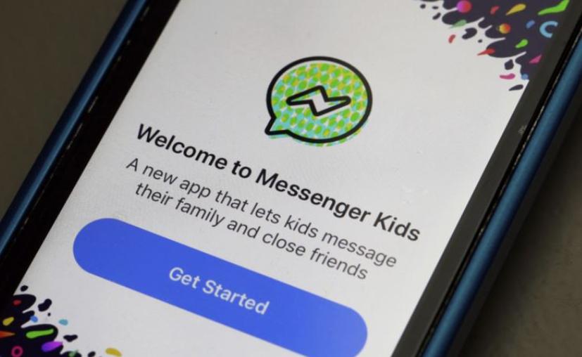 Messenger Kids ofrece un medio seguro para que los padres permitan a sus hijos comunicarse con videollamadas. (AP)