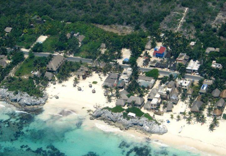 El desarrollo de Tulum debe ser basado en construcciones de 'bajo impacto', sugiere líder hotelero. (Cortesía)