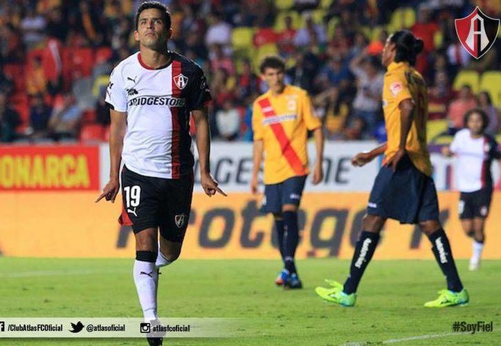 Con este triunfo sobre Morelia, Atlas llega a cuatro puntos. (Facebook/Atlas FC)