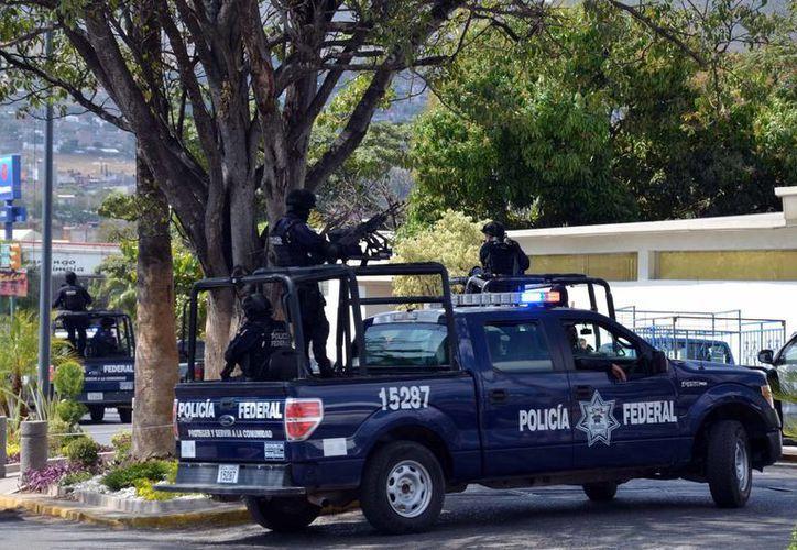 El cuartel de la Policía Municipal de Chilpancingo,  armamento, patrullas y toda la infraestructura, se pondrán a disposición de la Policía Federal. (Notimex/Contexto)