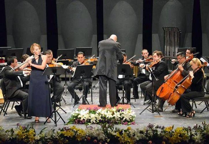 La Orquesta Cámara de Mérida presentará su primer concierto de temporada, este jueves, en el Centro Cultural Olimpo.(Milenio Novedades)
