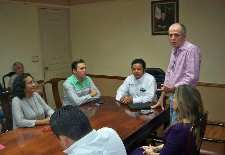 Mercader Rodríguez se comprometió a aplicar toda su capacidad para cumplir con las expectativas que en él se han depositado. (Redacción/SIPSE)