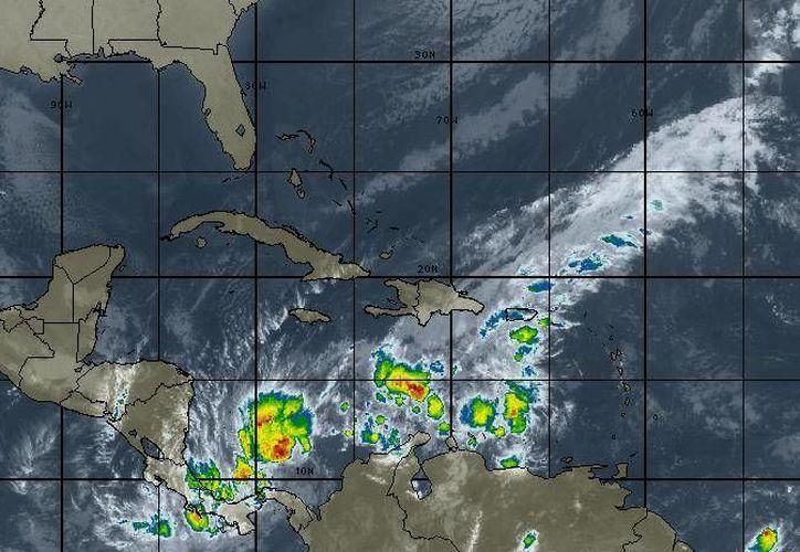 Los vientos oscilarán en los 18 kilómetros por hora en Cancún. (Intellicast)